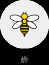 蜂(対象生物)