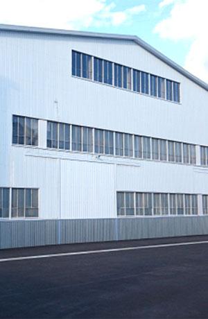 害虫ブロック施工施設(工場)